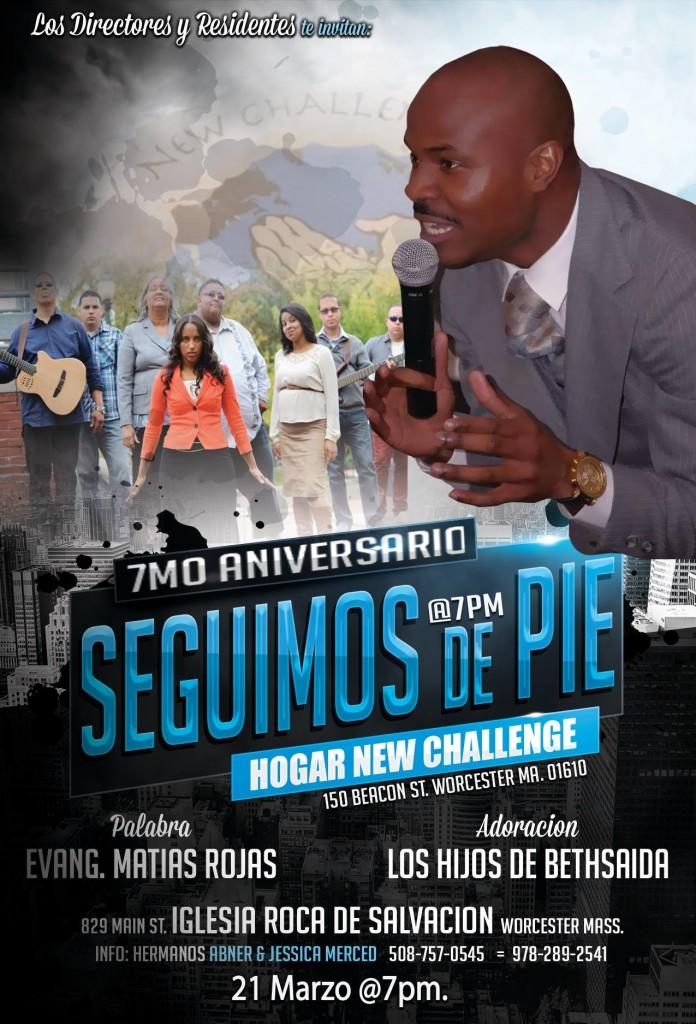 7mo Aniversario - Hogar New Challenge