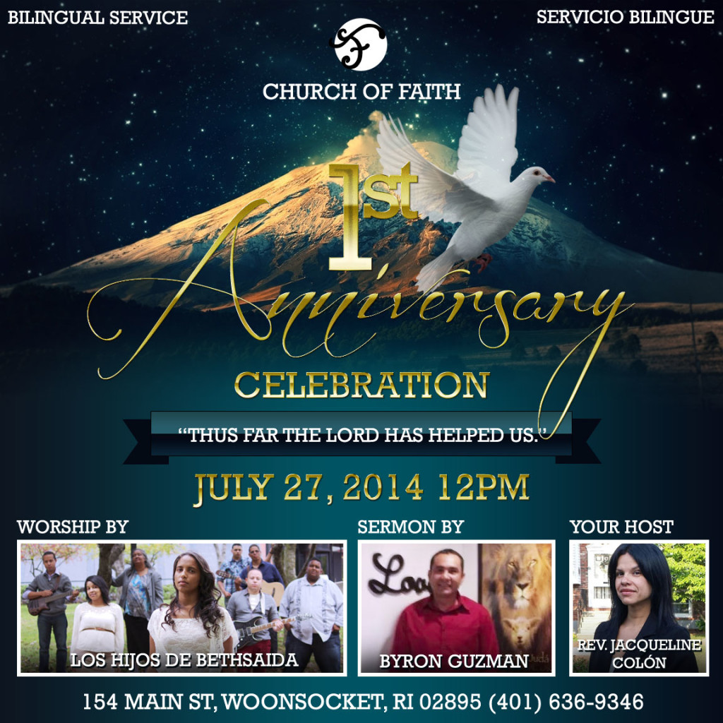 Church of Faith - Ist Anniversary
